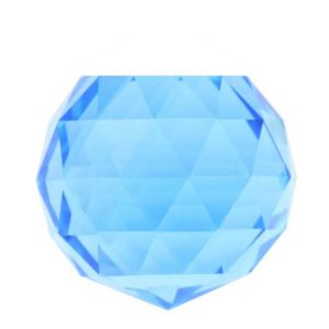 30 MM Kristal Mavi Kesik Top 10 Adet