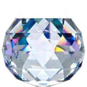 20 MM Kristal Şeffaf Kesik Top 10 Adet