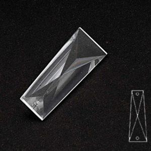 52x18 Seffaf Kristal Kelebek Avize Taşı 10 Adet
