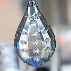 50x33 MM Gaynise Kristal Mercekli Avize Taşı 10 Adet
