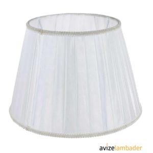 Abajur Şapka Modelleri ve Fiyatları Kırık Beyaz
