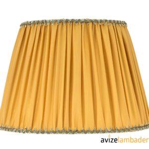 Abajur Şapka Modelleri ve Fiyatları Sarı